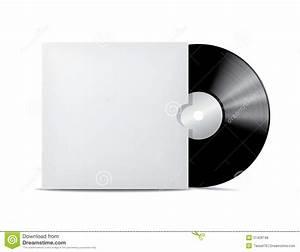 Vinyl Record In Blank Cover Envelope. Stock Vector - Image ...