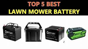 Best Lawn Mower Battery