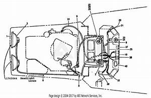 Troy Bilt 13064 12 5hp Hydro Suburban Tractor  S  N 130640100101  Parts Diagram For Electrical
