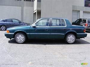 1993 Emerald Green Pearl Dodge Spirit Es  35177858 Photo
