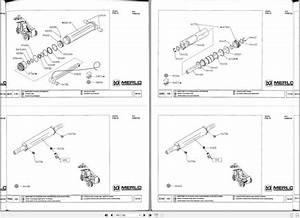 Merlo Telescopic Handler P39 P40 P60 Cdc Part Manual
