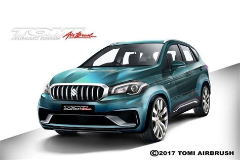Modifikasi Suzuki Sx4 S Cross by Modifikasi New Suzuki Sx4 S Cross Ala Tomi