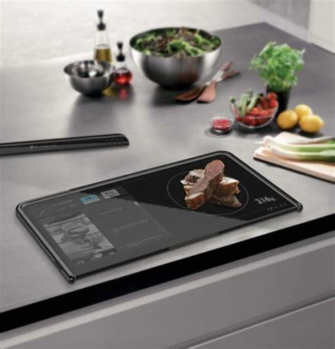 cuisine futur la cuisine du futur avec une tablette
