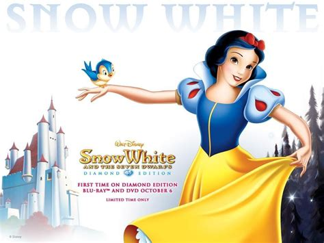 Snow White And The Seven Dwarfs Cartoon Hd Wallpaper For
