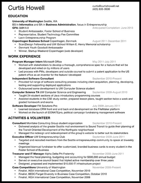 what resume looks like what should my resume look like the best resume