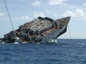 sinking photos