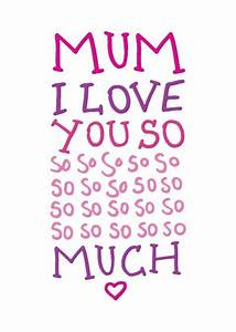 I love you so much MUM! | Mommy Daughter stuff ...