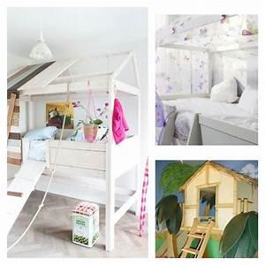 Aménagement Chambre Enfant : le lit cabane fille id es en images ~ Dode.kayakingforconservation.com Idées de Décoration