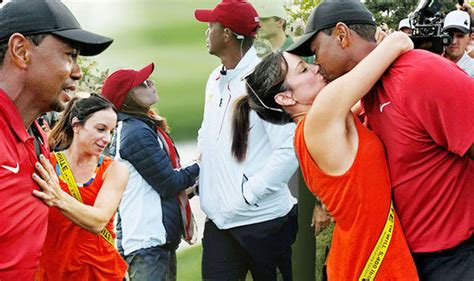 Tiger Woods girlfriend: Erica Herman 'chased' The Open ...