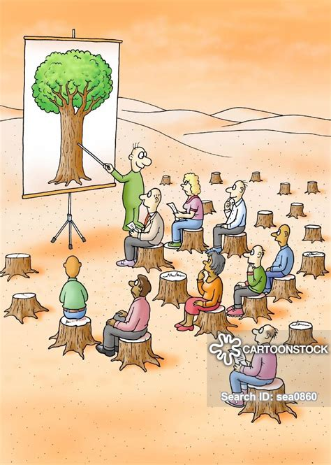 cutting  trees cartoons  comics funny pictures