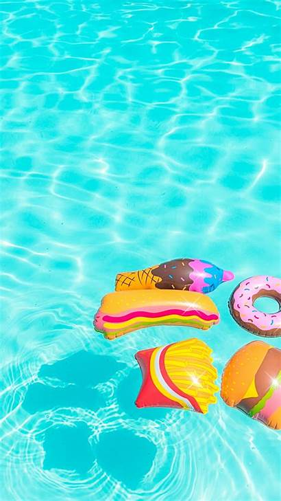 Pool Iphone Plus Toys Colorful Floating Wallpapers