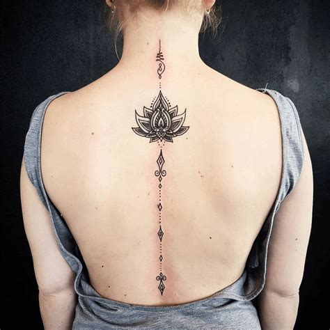 spine tattoos ideas  pinterest spinal tattoo