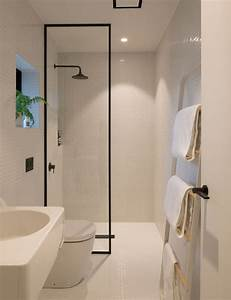 How, Minimalist, Design, Took, This, Small, Bathroom, To, The, Next, Level