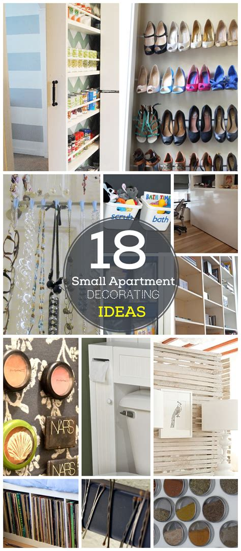 organizing tips for small spaces 18 diy small apartment decorating ideas on a budget click for tutorials diy organization