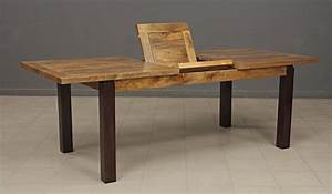 beau table de salle a manger avec rallonge en bois avec With meuble salle À manger avec table salle a manger en verre avec rallonge