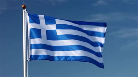 greek flag stock   royalty  footage istock