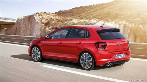 Volkswagen Polo 4k Wallpapers by 2018 Volkswagen Polo Gti Rear Three Quarter Hd