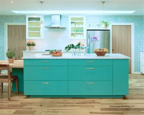 turquoise painted kitchen cabinets teal kitchen island 100 glidden ceiling paint failfix 6400