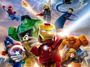 LEGO Marvel Super Heroes Wallpaper - WallpaperSafari