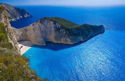 Crystal Clear Waters Of Navagio Beach