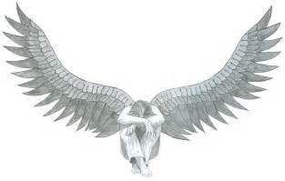 Dark Angel Wings Drawings
