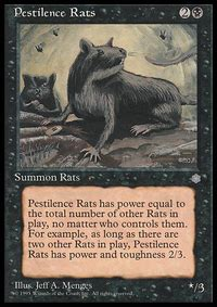 Mtg Rat Deck Tappedout by Earsplitting Rats Mtg Card