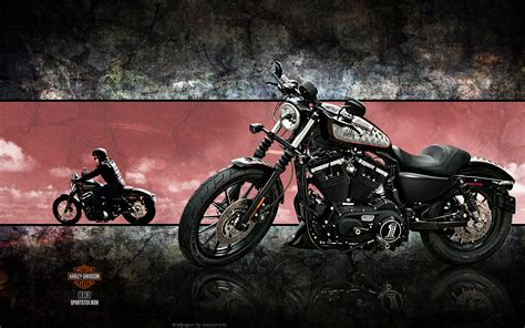 Harley Davidson Wallpaper Iron Chopper