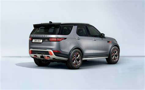 Land Rover Discovery 4k Wallpapers by Wallpapers Land Rover Discovery Sv 2018 Rear