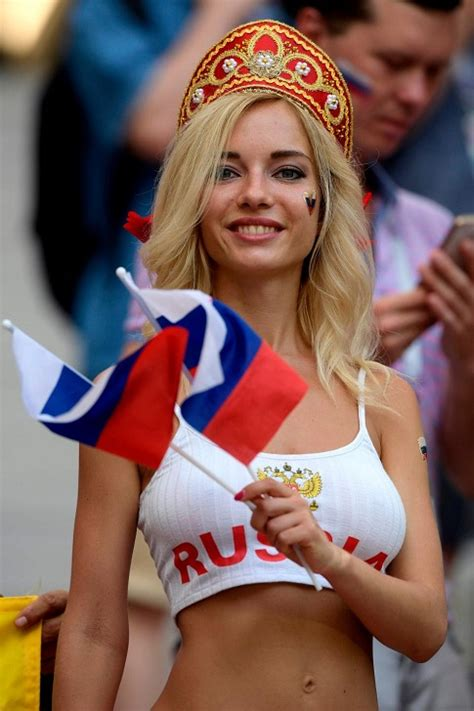 Natalya Nemchinova Russian Hottest Fan And Ex Porn Star Predicted That Russia Would Knock