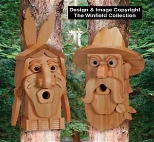 Birdhouse Wood Patterns - Cedar Cowboy & Indian Birdhouse
