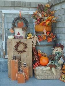 60, Pretty, Autumn, Porch, D, U00e9cor, Ideas