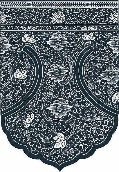 Chinese Pattern Ornament Vector Edge Pdf Printable