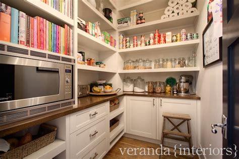 Walk In Pantry Ideas  Transitional  Kitchen  Veranda
