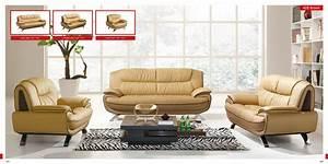 Designer Sofas Outlet : 3 pc esf 405 modern leather sofa set ~ Eleganceandgraceweddings.com Haus und Dekorationen