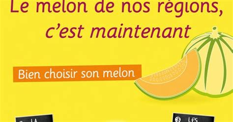 comment bien choisir un bon melon les pieds sous la table