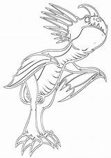 Stormfly Coloring Pages Cartoon sketch template
