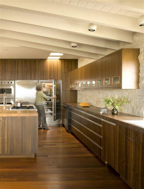 metal kitchen cabinets for alluring walnut cabinets home interior design midcentury 9147