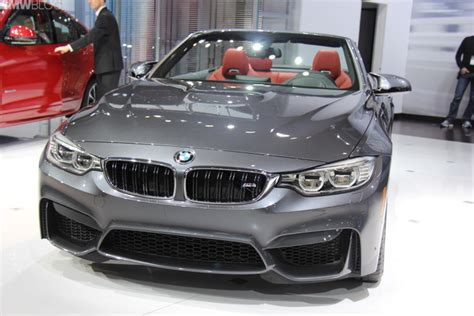 Bmw Neuheiten Ny Auto Show 2015 by 2015 Bmw M4 Convertible From 2014 New York Auto Show