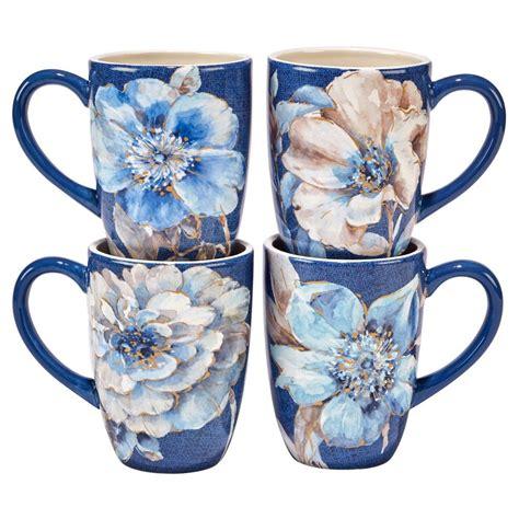 Shop for coffee mugs set online at target. Certified International Indigold Lisa Audit | Ceramic mugs ...
