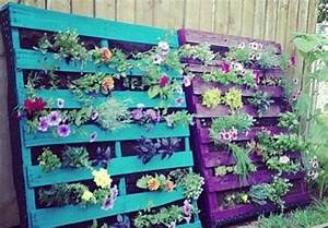 Mur Végétal En Palette : les palettes r inventent le mobilier de jardin bnbstaging le blog ~ Melissatoandfro.com Idées de Décoration