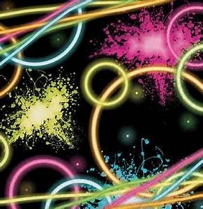 Neon Party Napkins
