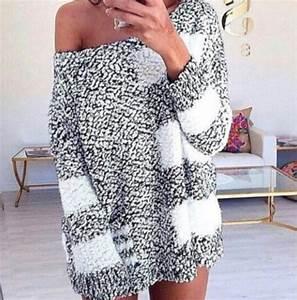 Sweater: oversized sweater, oversized, knit, knitwear ...