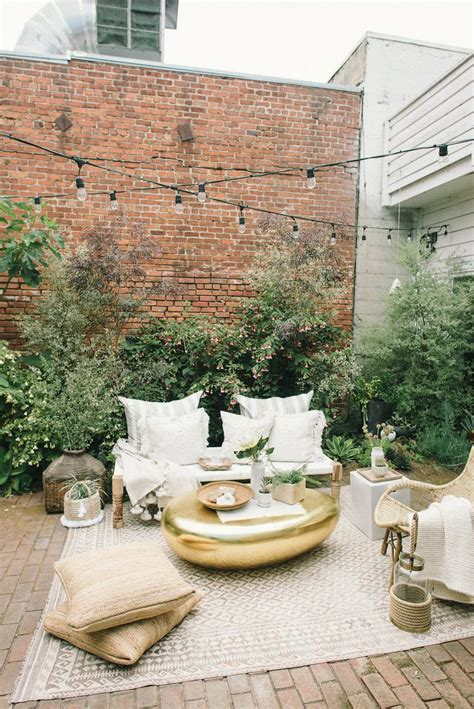 idees pour amenager une petite terrasse  coin