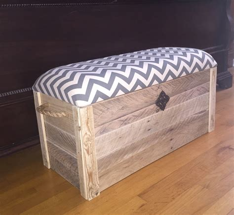 box bench chest box entryway bench storage by thedavidsondesign