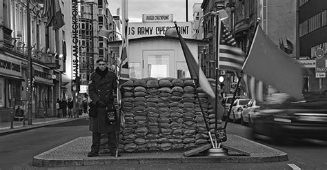 Closed Curtain by Checkpoint Charlie Is Back Ukraine Starts Building A New