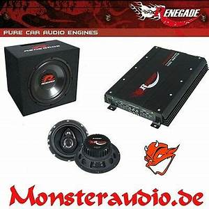Car Hifi Anlage : auto hifi anlage lautsprecher set geh use subwoofer bass ~ Kayakingforconservation.com Haus und Dekorationen