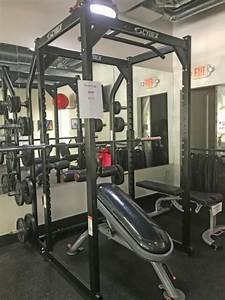 Cybex Free Weight Power Cage Station For Sale