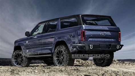 2020 Ford Bronco Might Get A 7speed Manual, Report Says