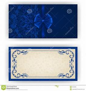 Wedding invitation template royal blue chatterzoom for Wedding invitation blank template royal blue