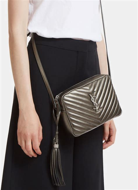 saint laurent small lou monogram matelasse bag ln cc